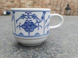 Blauw saks Kahla kopjes koffiekoppen
