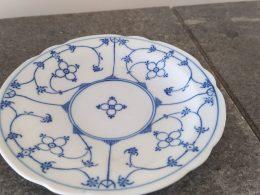 cakeschaaltje blauw saks geschulpt Bavaria  Oscar schaller